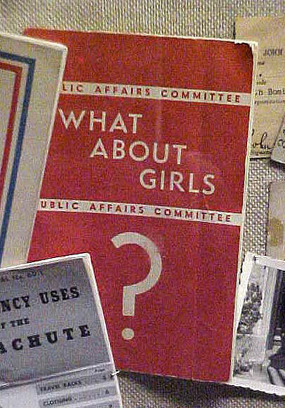 Pamphlet, 'What About Girls'