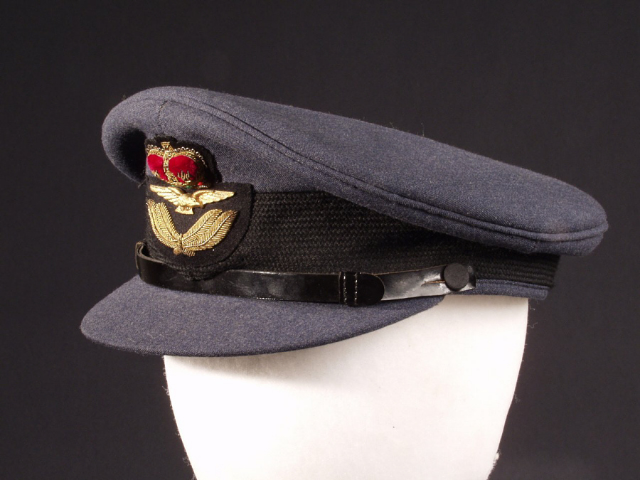 Cap, Service, Officer, Royal Canadian Air Force