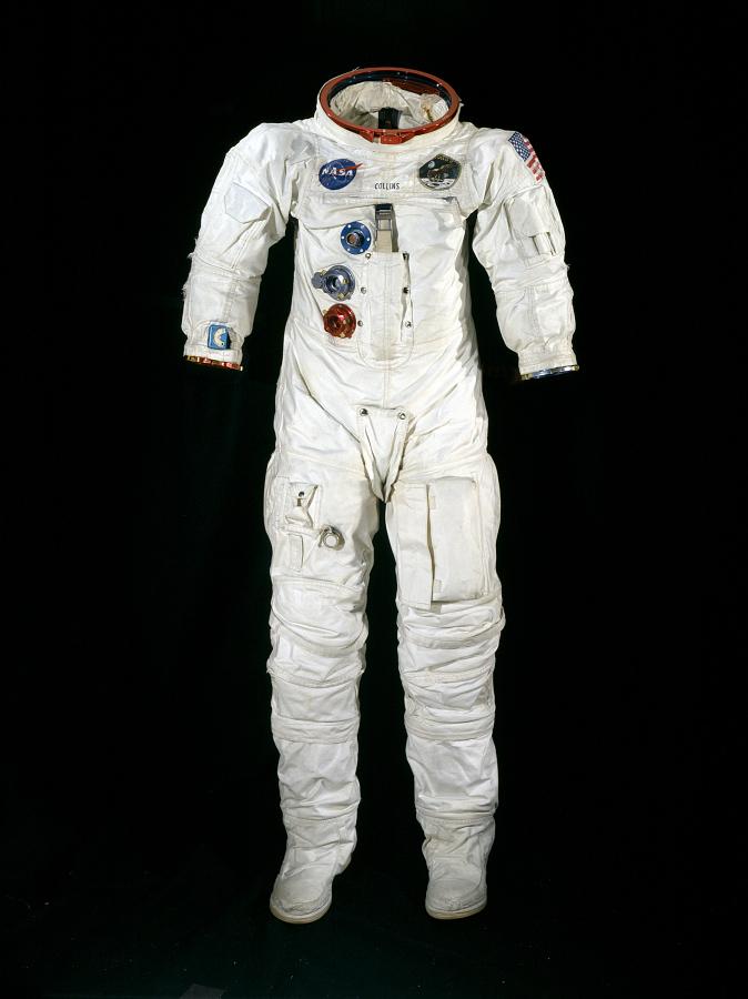 Pressure Suit, A7-L, Collins, Apollo 11, Flown