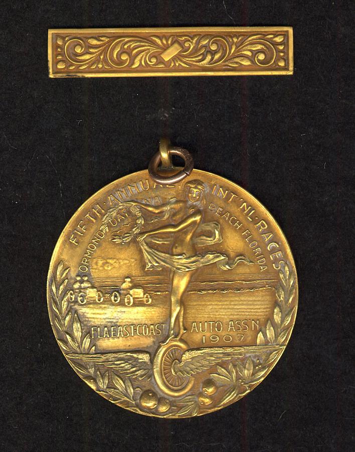 Medal, Florida East Coast Automobile Association, Glenn Curtiss
