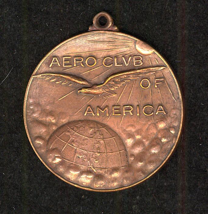 Medal, Aero Club of America Aviation Medal of Merit, Glenn Curtiss