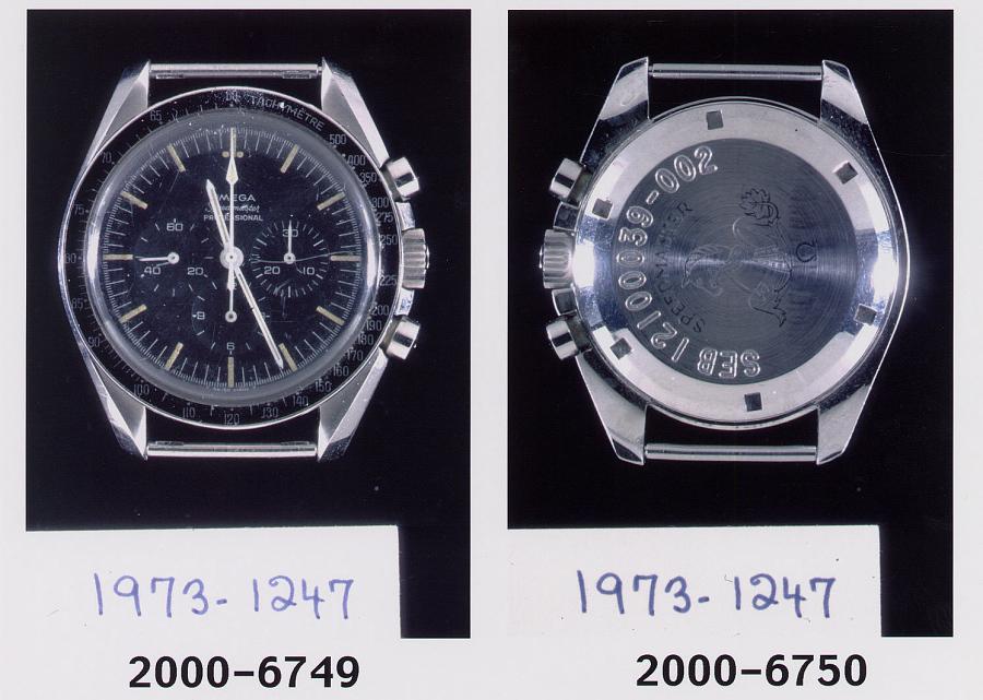 Chronograph, Armstrong, Apollo 11