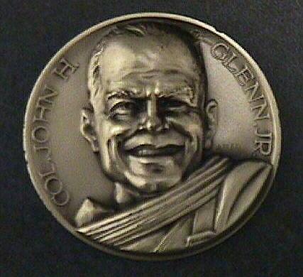 Medal, Commemorative, John Glenn