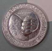 Medal, Commemorative, Apollo 12, Lombardo Mint