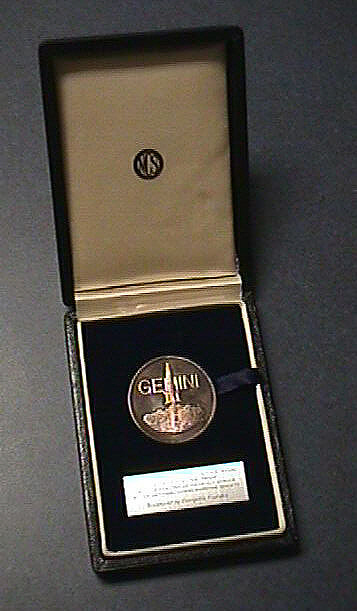 Medal, Commemorative, Gemini IV, National Commemorative Society