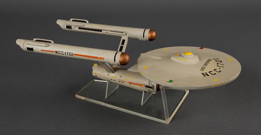 Stand, Model, Star Trek, Starship Enterprise