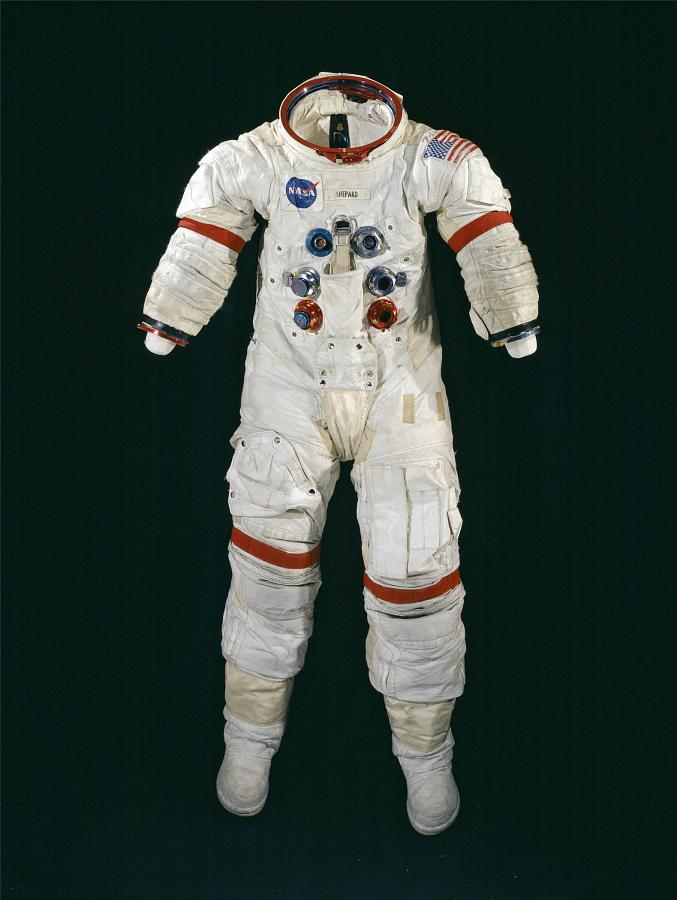 Pressure Suit, Apollo A7-L, Shepard, Training