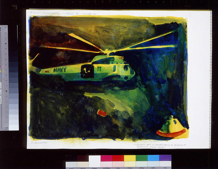 Recovery Remembered- Apollo 16