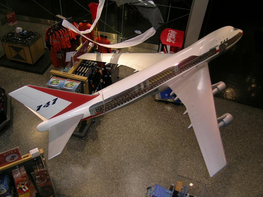 Model, Static, Boeing 747