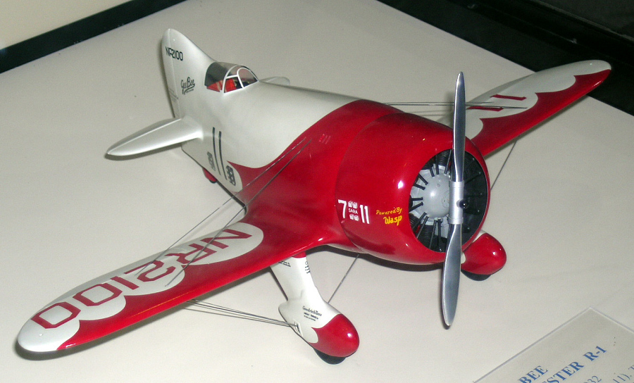 Model, Static, Gee Bee R-1 Super Sportster