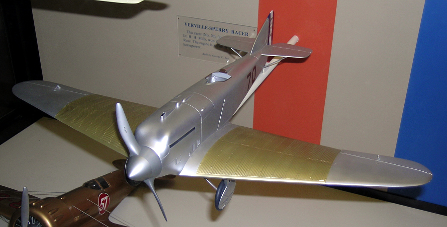 Model, Static, Verville-Sperry R-3