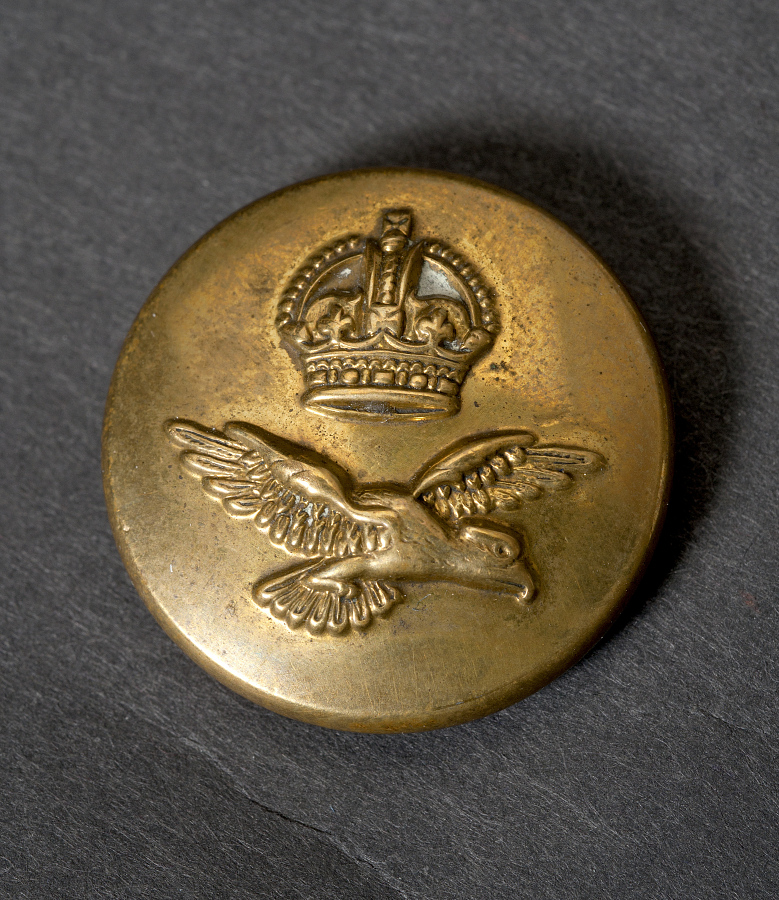 Button, Tunic, and Compass, Royal Air Force