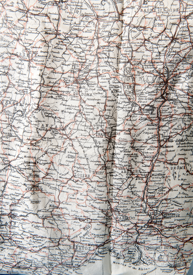 Map, Escape, Southern France
