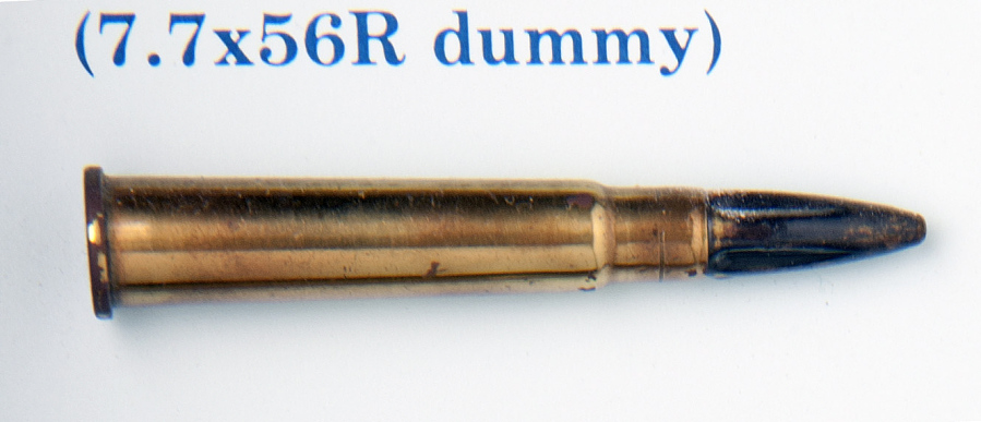 Cartridge, Dummy, 7.7x56R, Italian