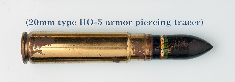 Cartridge, Armor Piercing Tracer, 20mm, Japan