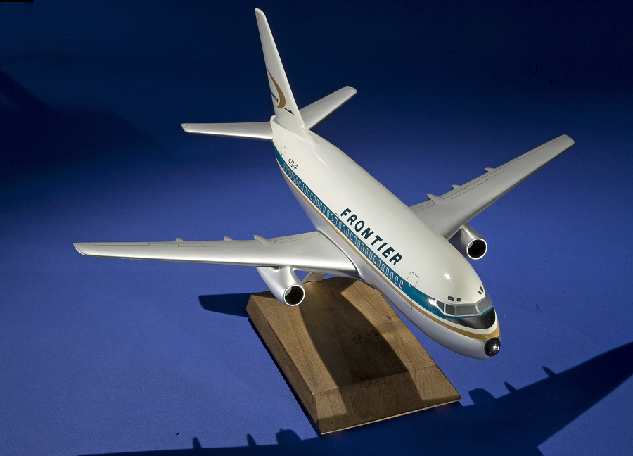 Model, Static, Boeing 737, Frontier Airlines