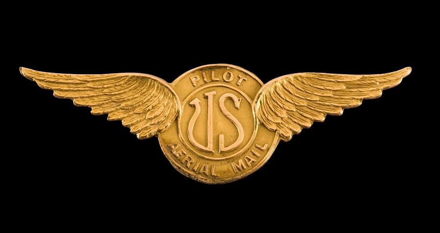 Badge, Pilot, Airmail, Bob Shank