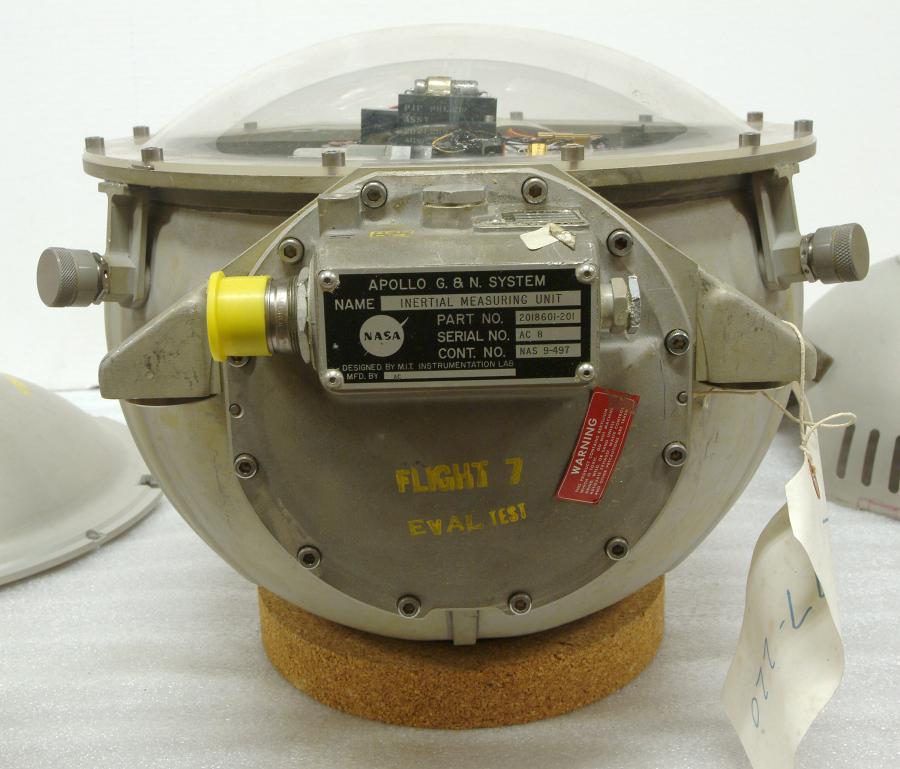 Parts, Inertial Measurement Unit, SC101, Apollo 7