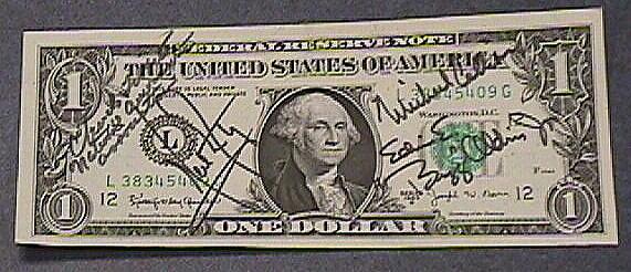 One Dollar Bill, Apollo 11