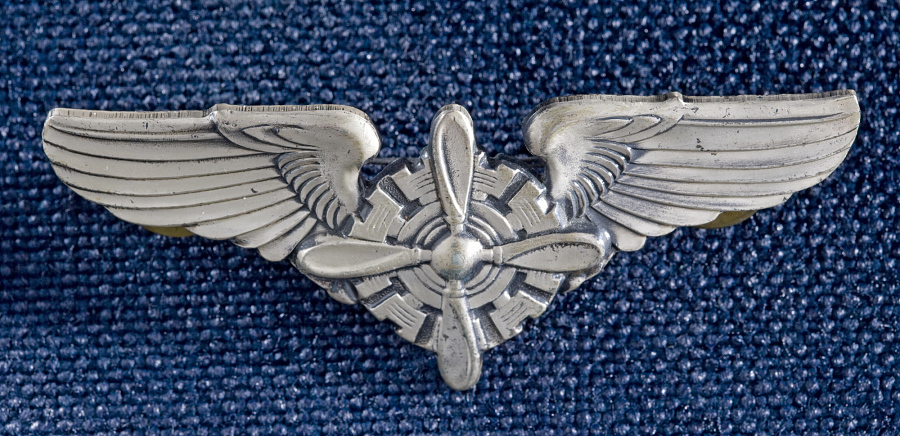 Badge, Flight Engineer, United States Army Air Forces