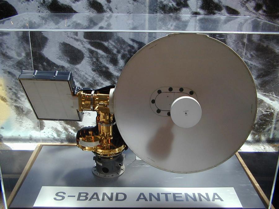 Antenna, Steerable S. Band, Apollo