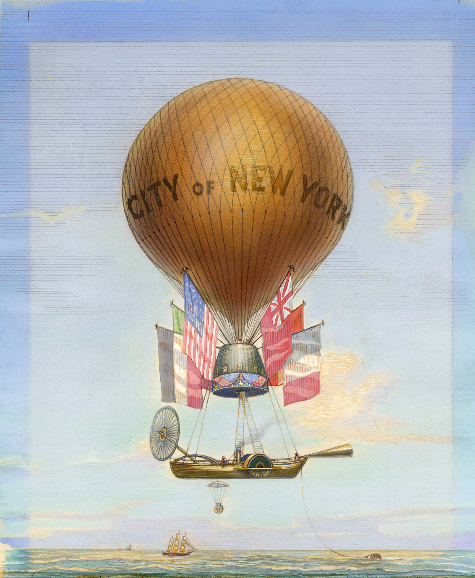 images for City of New York Balloon