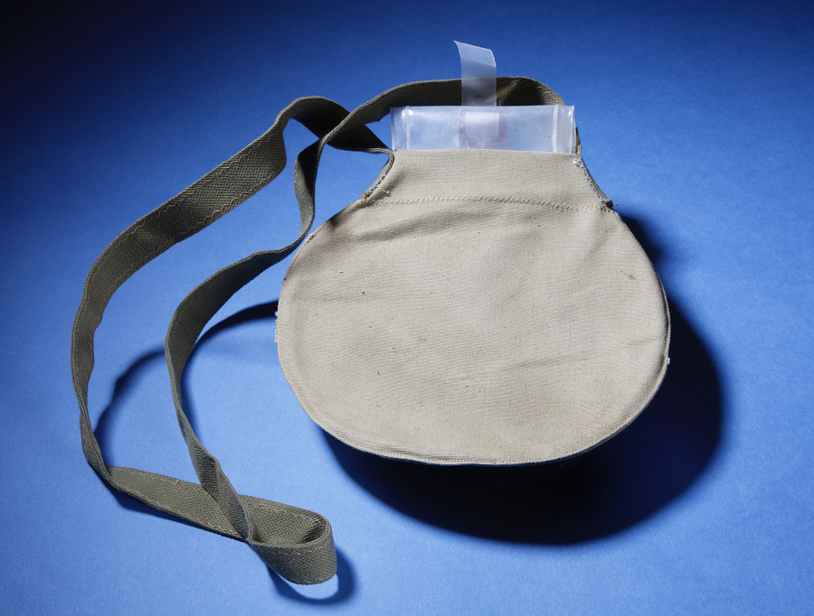 Canvas Water Bag with Plastic Liner