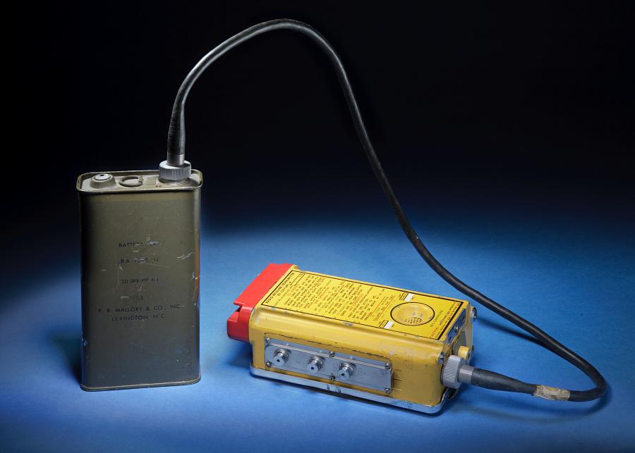 Battery, BA1515/U 20389-PP, for Portable Radio Receiver/Transmitter RT-159/URC-4