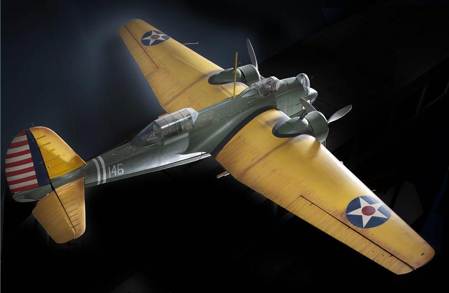 Model, Static, Martin B-10