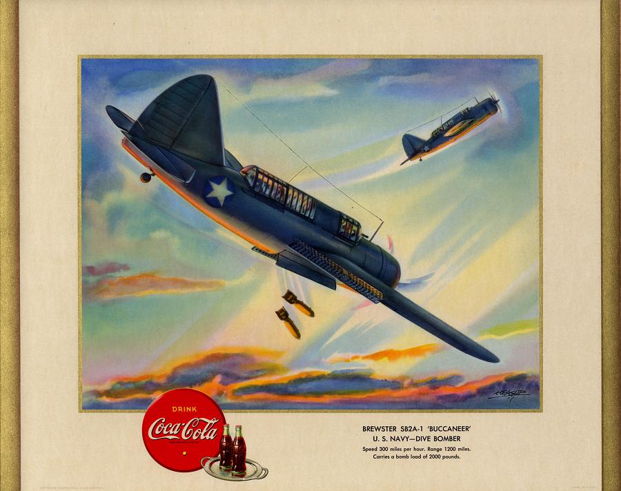Brewster SB2A-1 'Buccaneer' U.S. Navy - Dive Bomber