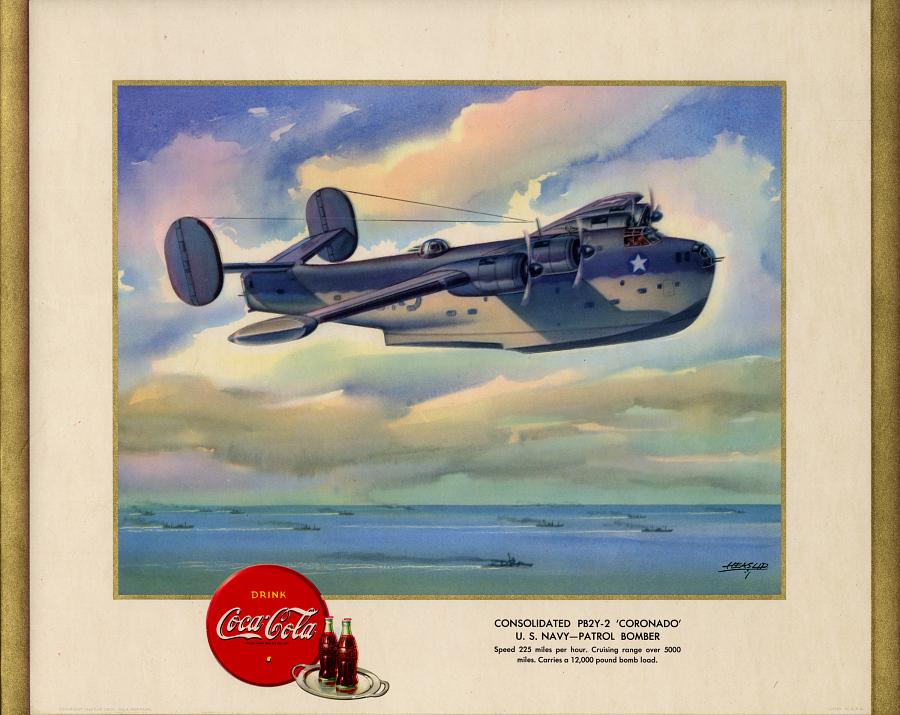 Consolidated PB2Y-2 'Coronado' U.S. Navy - Patrol Bomber