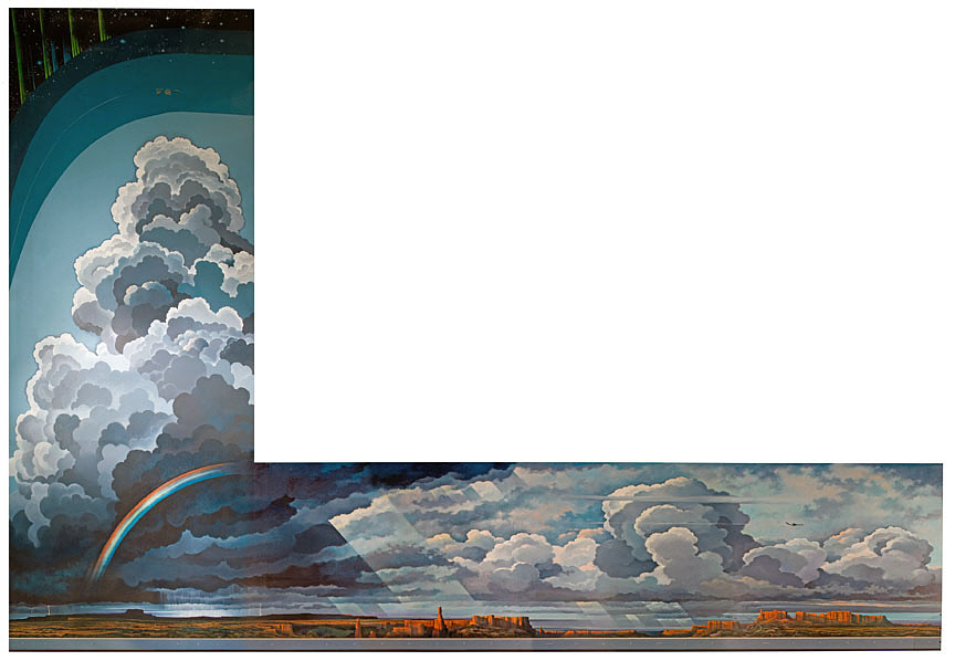 'Earth Flight Environment' Mural (Eric Sloane)