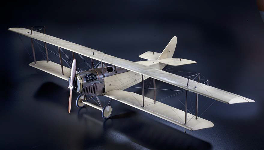 Model, Static, Curtiss JN-4D