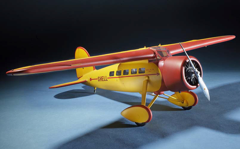 Model, Static, Lockheed 5C Vega