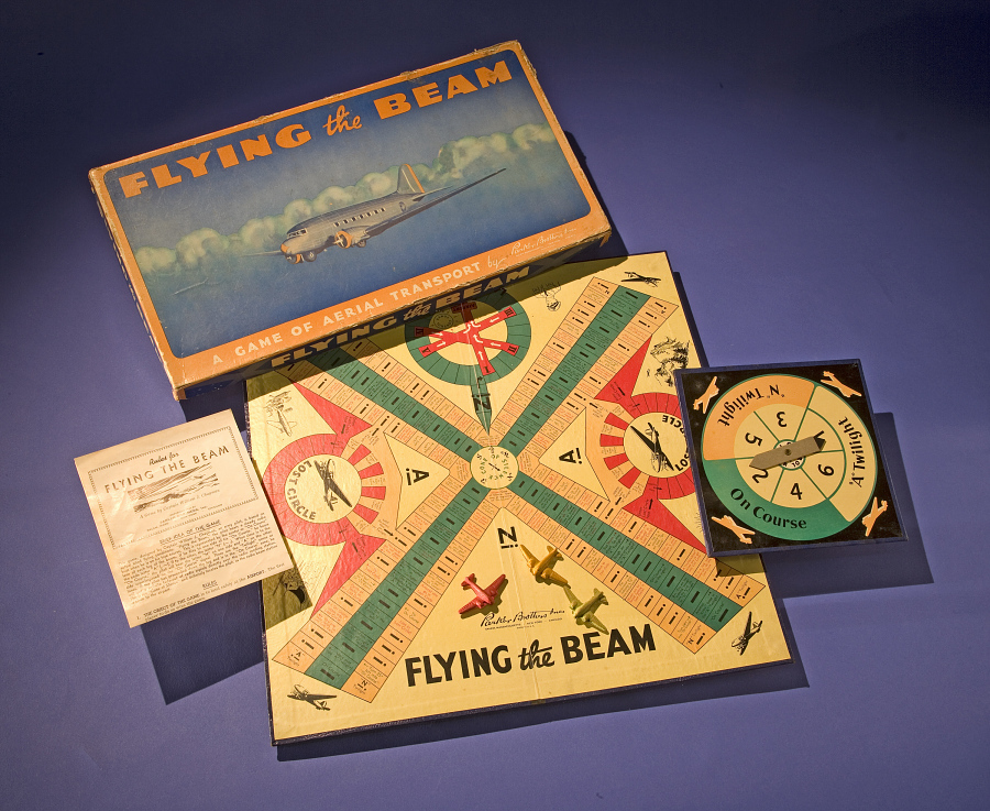 Game Tokens, Board Game, Flying the Beam