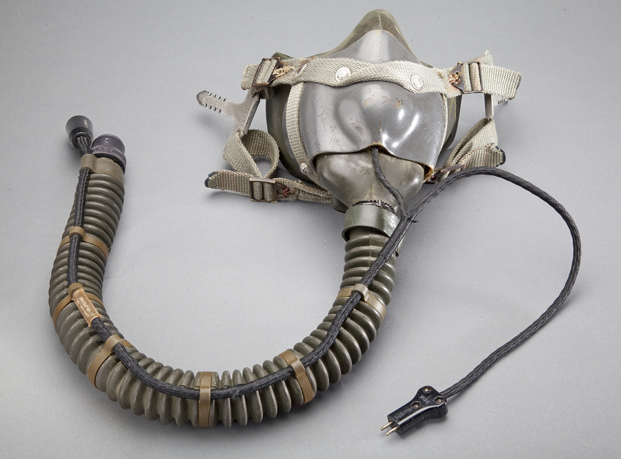 Mask, Oxygen, Type MBU-3/P or MS-22001, United States Air Force