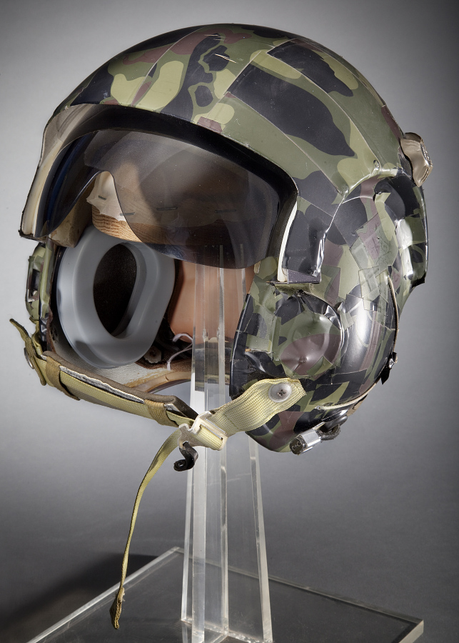 Helmet, Flying, Protective, Type HGU-2A/P, United States Air Force