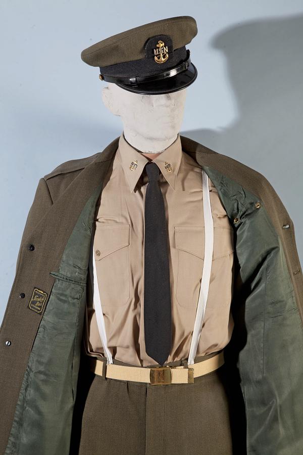 Shirt, Service, Summer, United States Navy