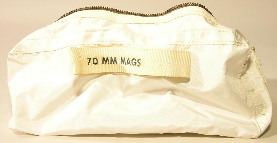 Bag, Decontamination, Film Magazine, 70 mm, Lunar Surface, Apollo 11