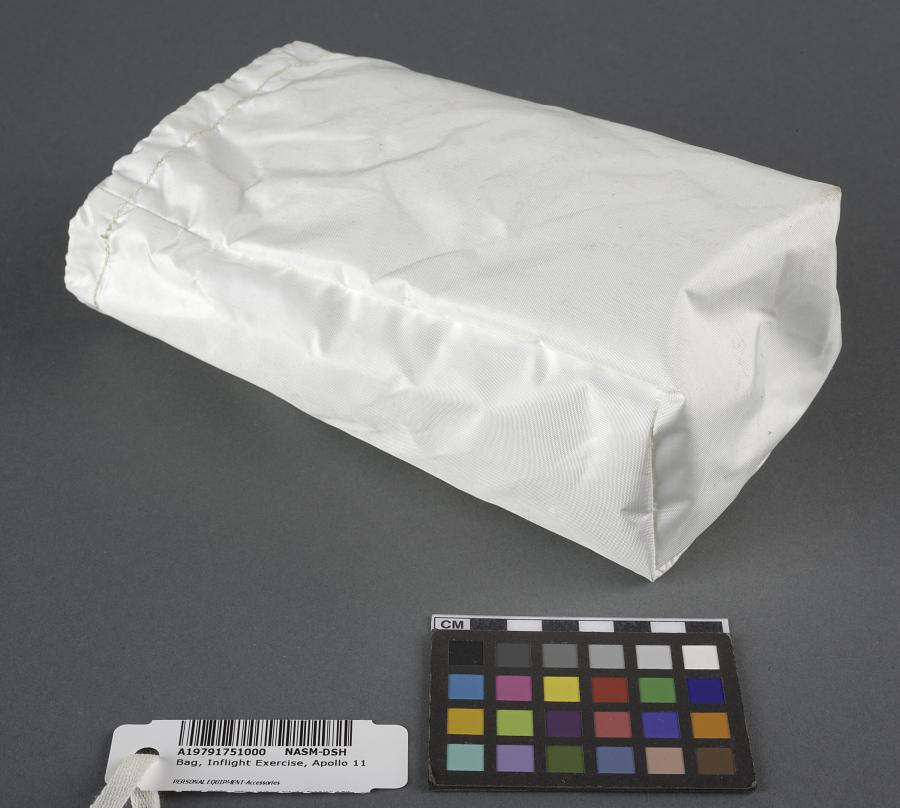 Bag, Inflight Exercise, Apollo 11