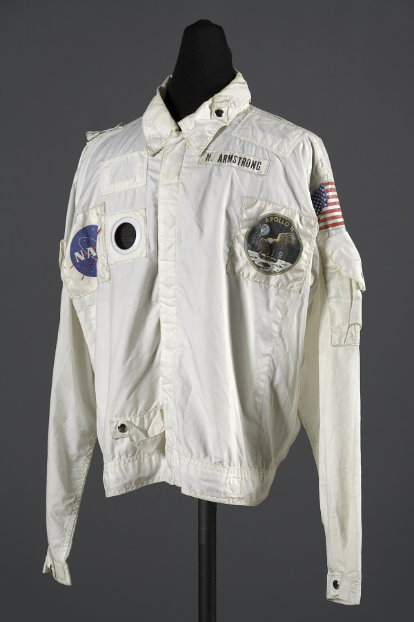 Inflight Coverall Garment, Jacket, Armstrong, Apollo 11