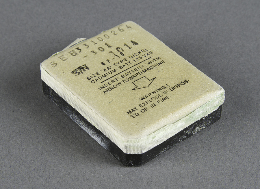 Battery, Voice Recorder, Apollo 11
