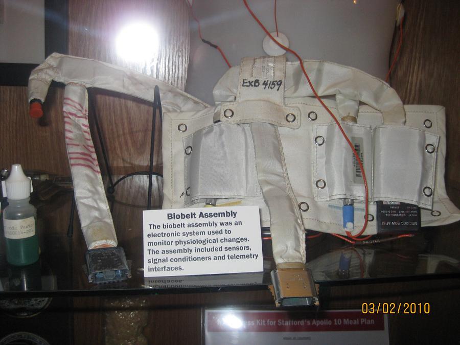 Assembly, Bio-Harness, Scott, Apollo 9