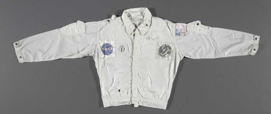 Inflight Coverall Garment, Jacket, Collins, Apollo 11