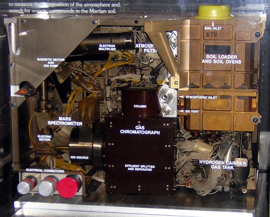 Planetary Probe, Viking, Gas Chromatograph Mass Spectrometer