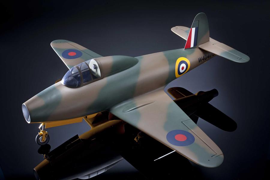 Model, Static, Gloster E28/39