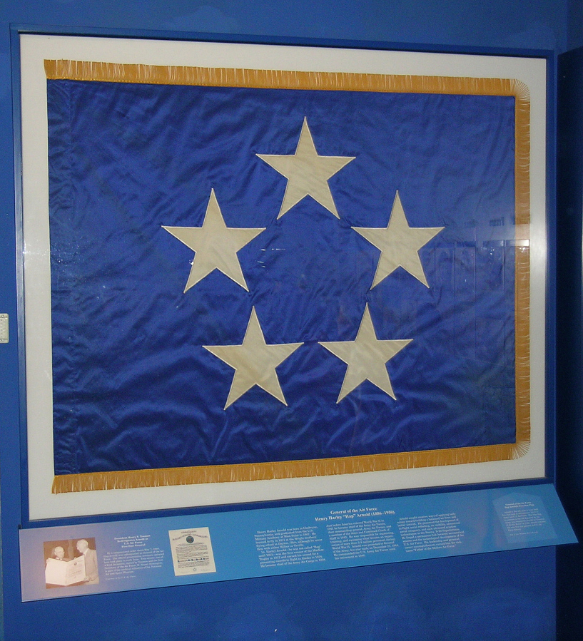 Flag, General of the Air Force, H.H. Arnold