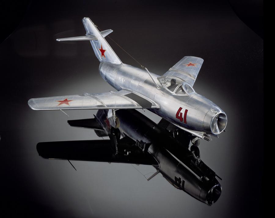 Model, Static, MiG-15bis