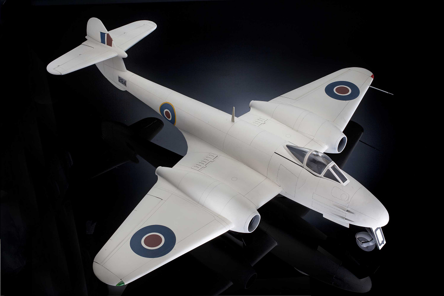 Model, Static, Gloster Meteor