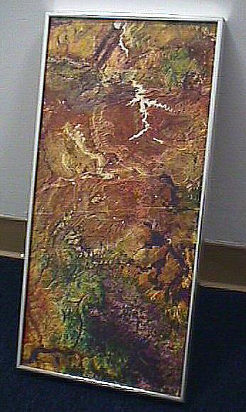 Satellite Photo: Wyoming Basin, Wyoming